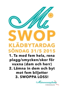 SWOP - Klädbytardag 31/5