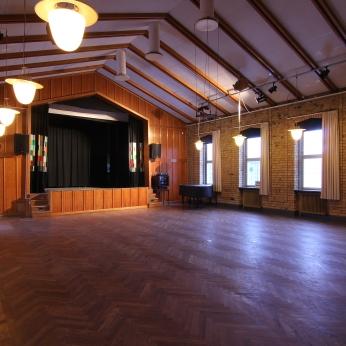 Stora salen, övervåningen