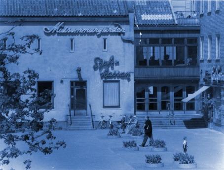 HusetOkäntcyanblå